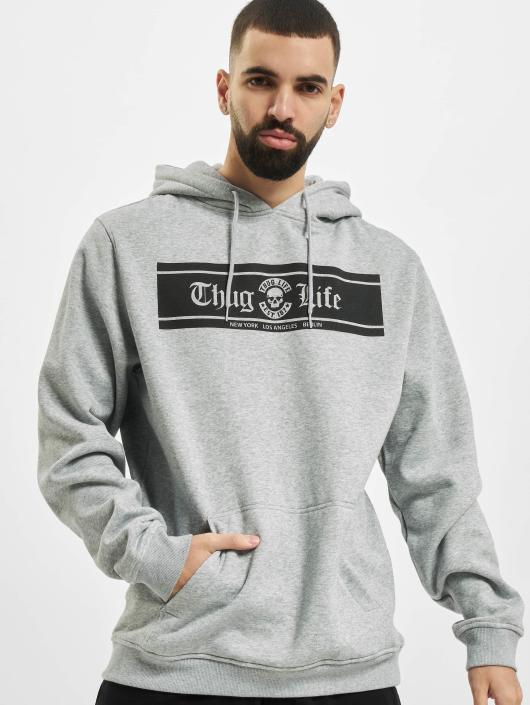 Thug Life Basic Hoody Life Box grau