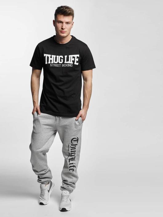 Thug Life Basic Sweat Pant Cities gray