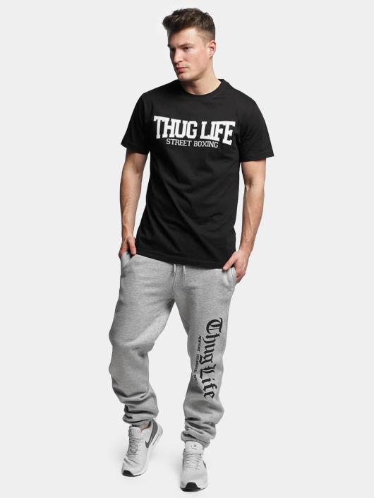 Thug Life Basic T-Shirt Street Boxing schwarz