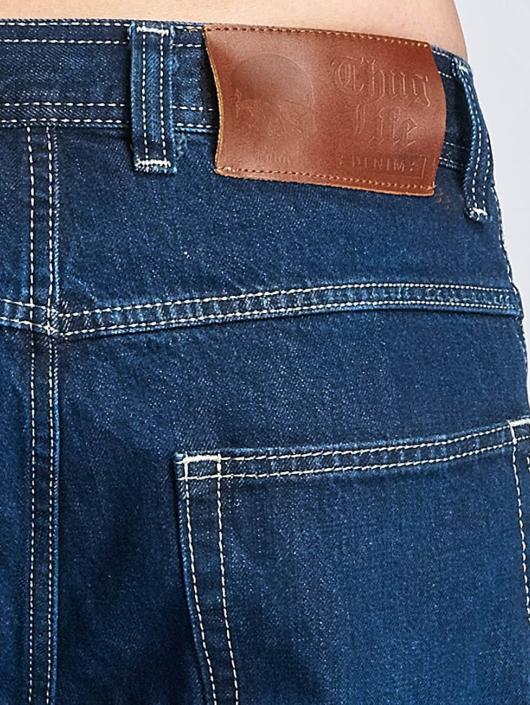 Thug Life Carrot Fit Jeans Primorsk blue