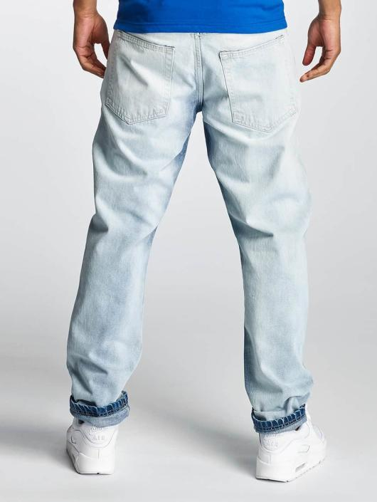 Thug Life Gulrotbukser Washed blå