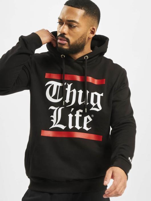 Thug Life Hoodie B.Gothic black