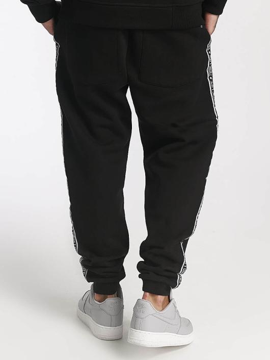 Thug Life joggingbroek Worldwide zwart