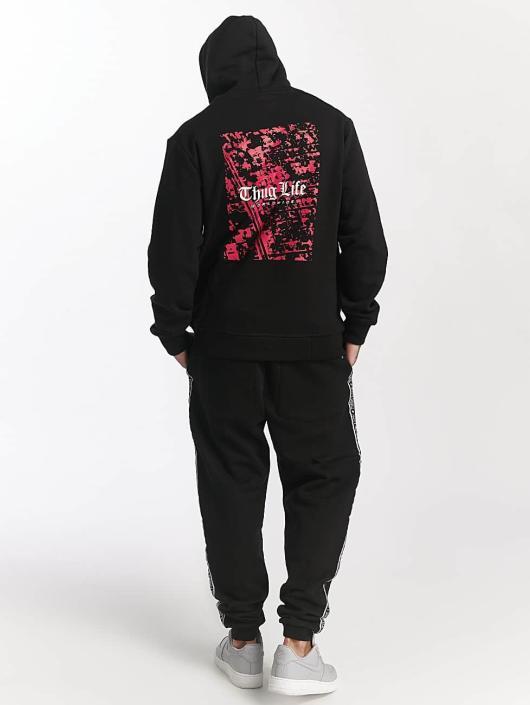 Thug Life Jogginghose Worldwide schwarz