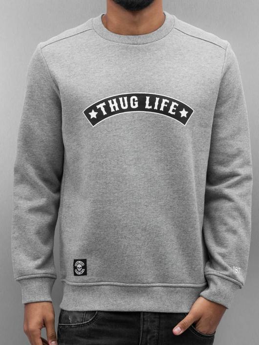 Thug Life Jumper Rudedigga grey