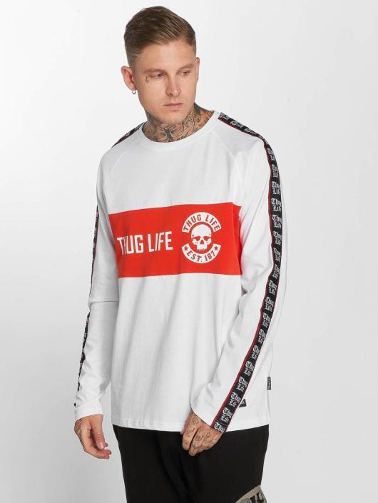 Thug Life Langermet Lux hvit