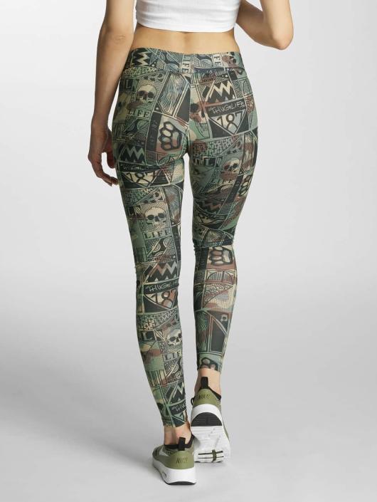 Thug Life Legging/Tregging Broon camouflage