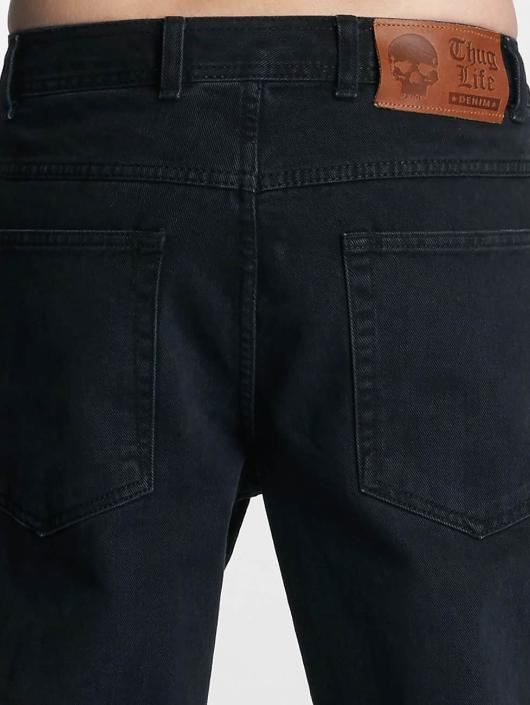 Thug Life Loose Fit Jeans Carrot black