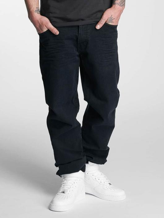 Thug Life Loose fit jeans Carrot svart
