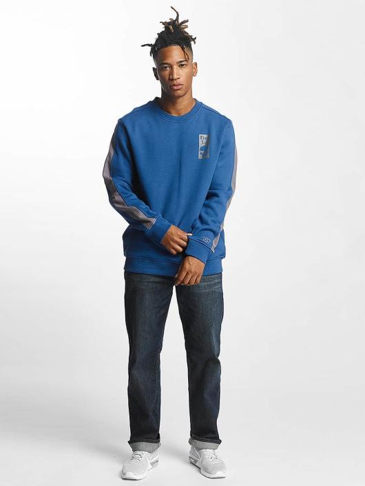 Thug Life Pullover Simple blau