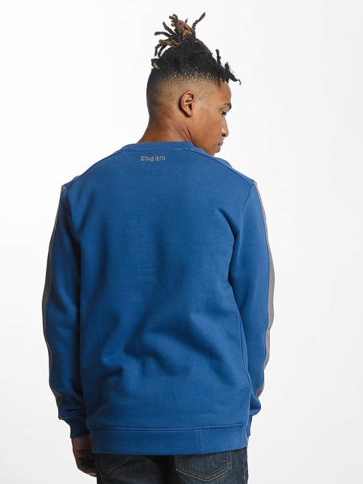 Thug Life Pullover Simple blue