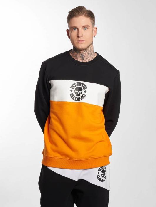 Thug Life Pullover Lion orange