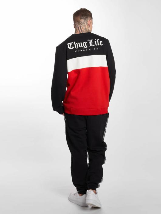 Thug Life Pullover Lion rot