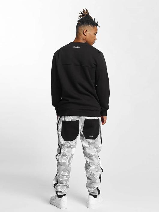 Thug Life Pullover Barley schwarz