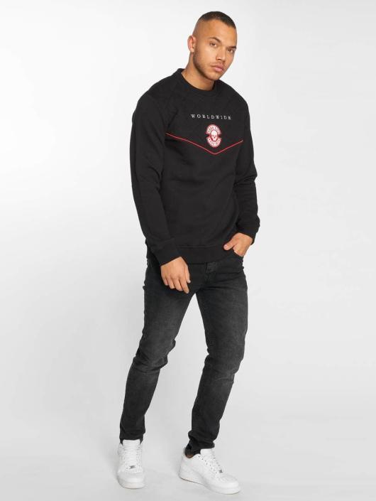 Thug Life Pullover Panther schwarz