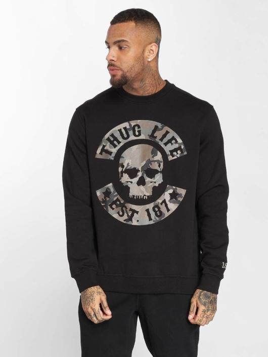 Thug Life Pullover B.Camo schwarz