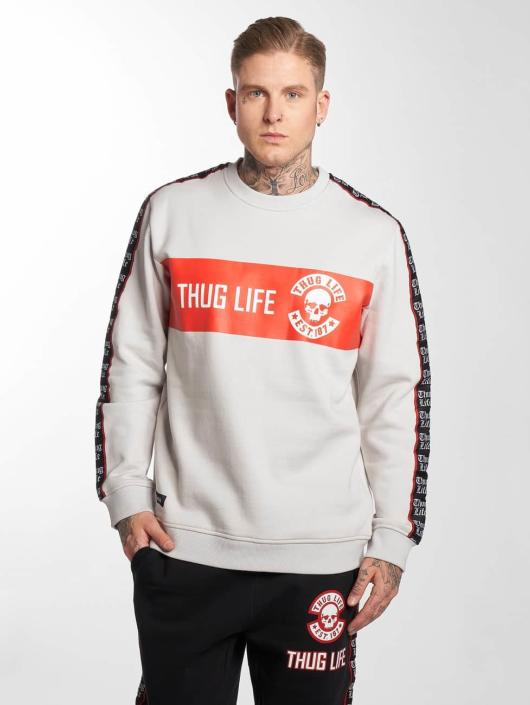 Thug Life Pulóvre Lux šedá
