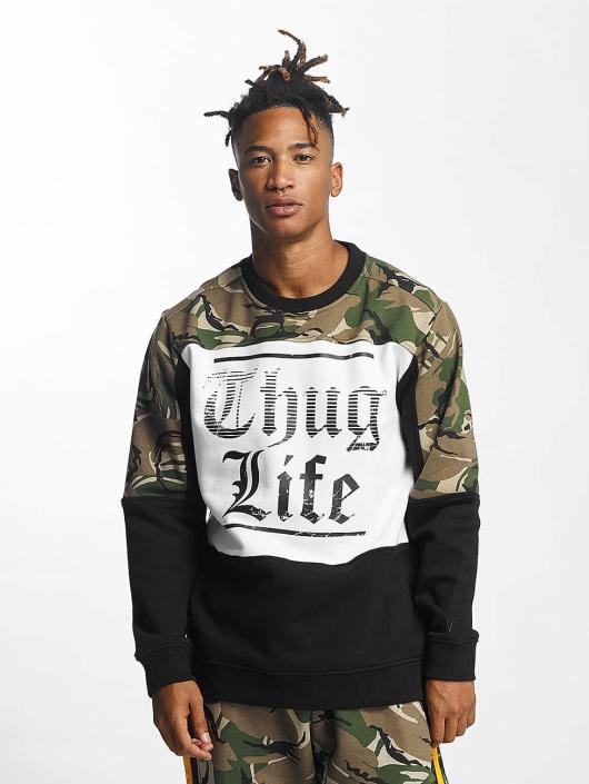 Thug Life Pulóvre New Life maskáèová
