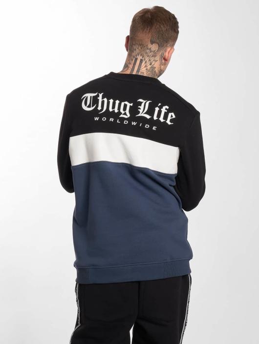 Thug Homme Lion Pull Sweatamp; 391985 Bleu Life DH2EI9