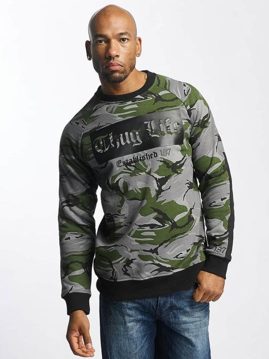 7484801f4988b Thug Life   TLCN115 camouflage Homme Sweat   Pull 357672