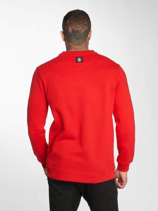 Thug Life Swetry B.Distress czerwony