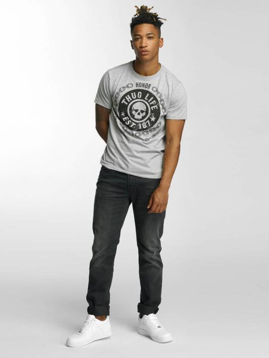 Thug Life T-Shirt Barley grau