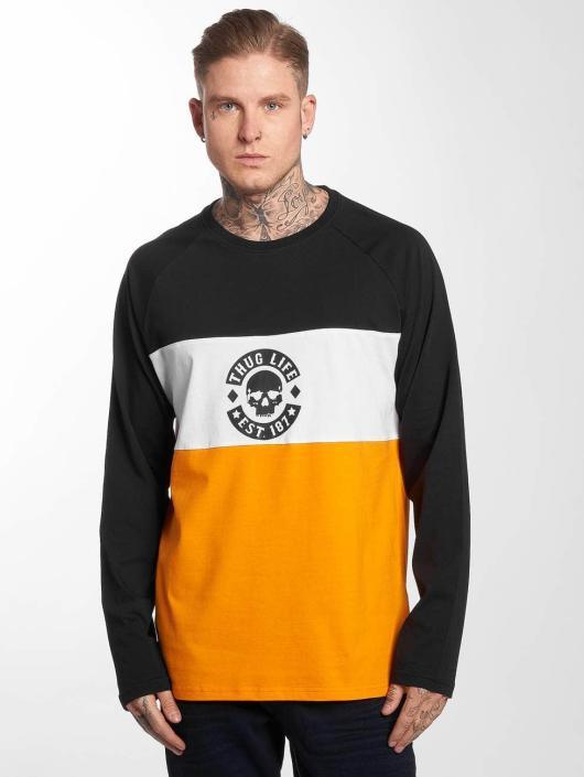 Thug Life T-Shirt manches longues Life Lion orange