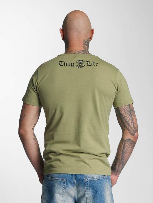 Thug Life T-Shirt Violance olive
