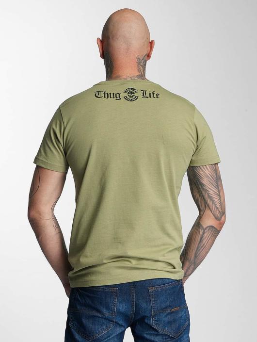 Thug Life T-Shirt No Reason olive