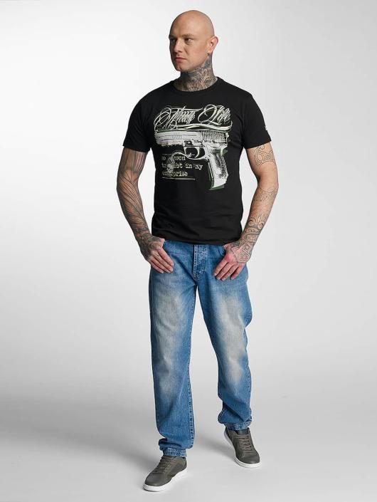 Thug Life T-Shirt no reason schwarz