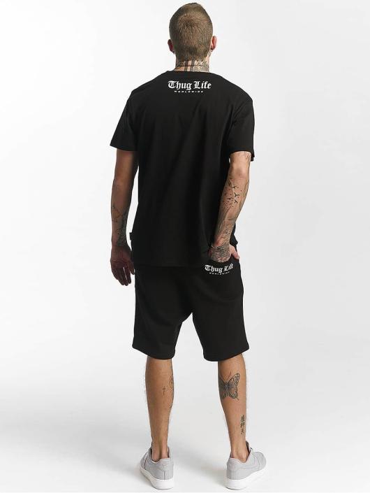 Thug Life T-Shirt Flag schwarz