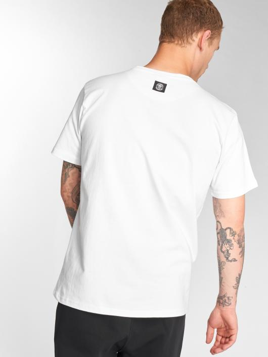 Thug Life T-shirts B. Camo hvid