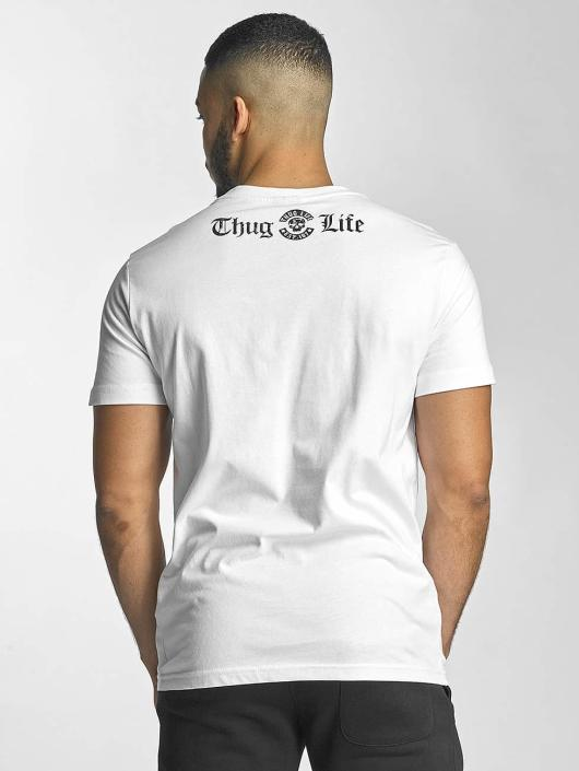 Thug Life T-Shirty Established 187 bialy
