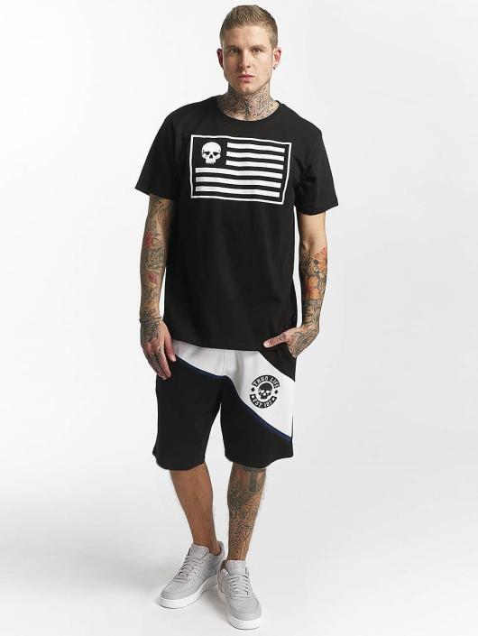 Thug Life T-skjorter Flag svart