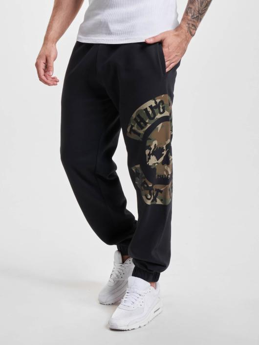 Thug Life tepláky B.Camo èierna