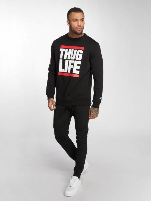 Thug Life Trøjer B.Fight sort