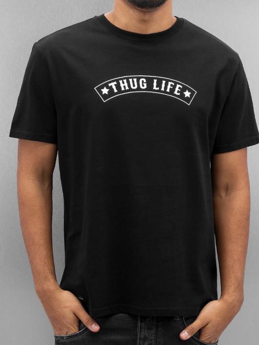 Thug Life Tričká Richking èierna
