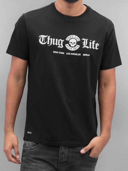 Thug Life Tričká Ghetto Boys èierna