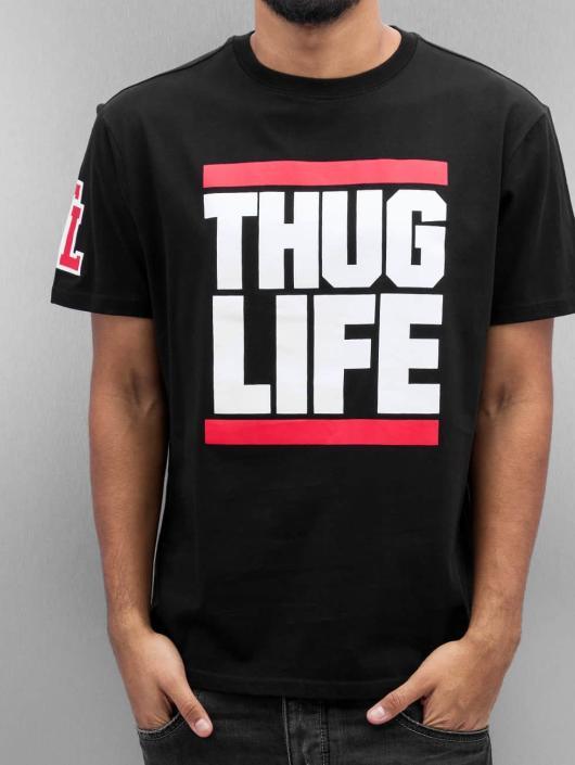 Thug Life Tričká Bigfight èierna