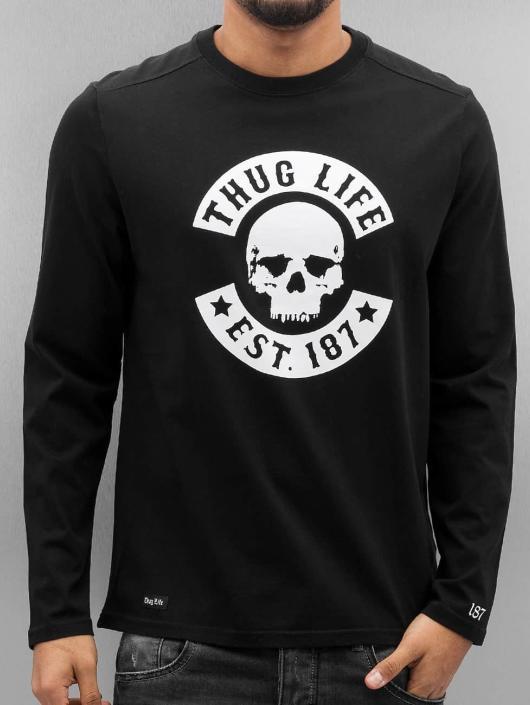 Thug Life Tričká dlhý rukáv Z-Ro èierna