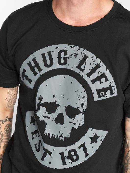 Thug Life Trika B.Distress čern