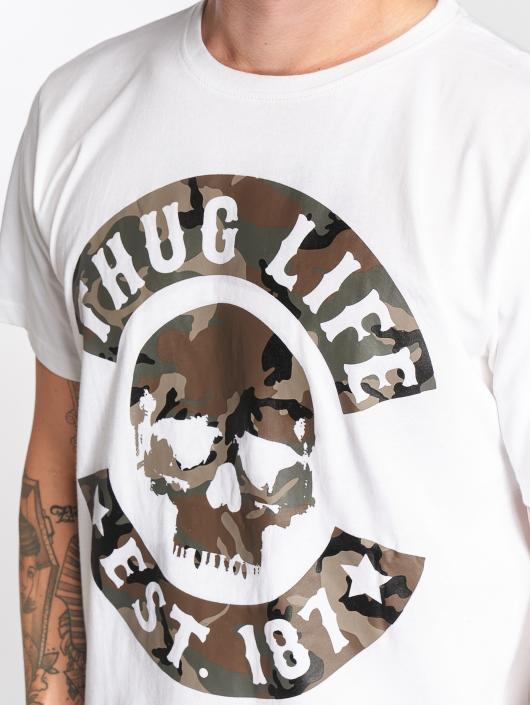 Thug Life Trika B. Camo bílý