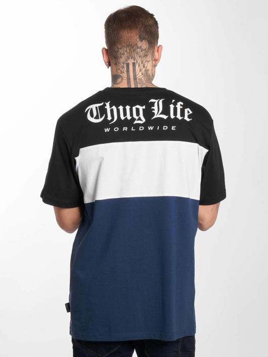 Thug Life Trika Lion modrý