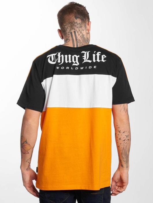 Thug Life Trika Life Lion oranžový