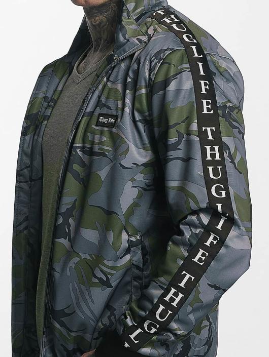 Thug Life Übergangsjacke Wired grau