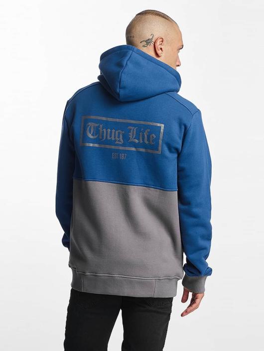 Thug Life Zip Hoodie THGLFE blau