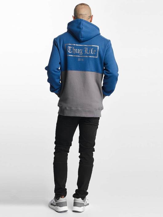 Thug Life Zip Hoodie THGLFE modrá