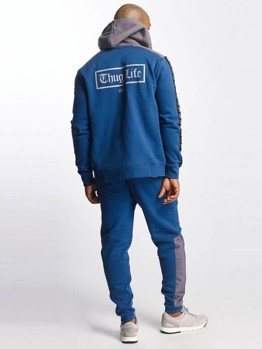 Thug Life Zip Hoodie Wired niebieski
