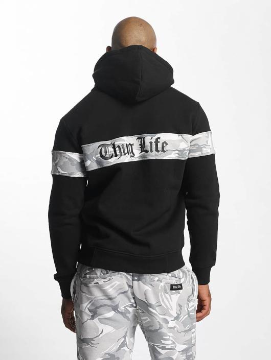 Thug Life Zip Hoodie Bar schwarz