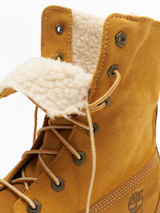 Timberland Chaussures montantes Authentics Teddy Fleece Waterproof beige